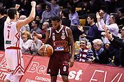 Candi Lorenzo Hyanes MarQuez<br /> Grissin Bon Pallacanestro Reggio Emilia - Umana Reyer Venezia<br /> Lega Basket Serie A 2018/2019<br /> Reggio Emilia, 30/12/2018<br /> Foto A.Giberti / Ciamillo - Castoria
