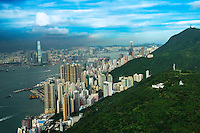 Kowloon (left) and Sheung Wan & Central (right)