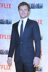 July 31, 2017 - New York, NY, USA - July 31, 2017  New York City..Finn Jones attending Marvel's 'The Defenders' TV show premiere on July 31, 2017 in New York City. (Credit Image: © Kristin Callahan/Ace Pictures via ZUMA Press)