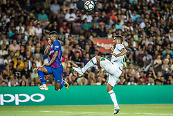 August 7, 2017 - Barcelona, Catalonia, Spain - FC Barcelona defender MARLON SANTOS in action during the Joan Gamper Trophy between FC Barcelona and Chapecoense at the Camp Nou stadium in Barcelona (Credit Image: © Matthias Oesterle via ZUMA Wire)