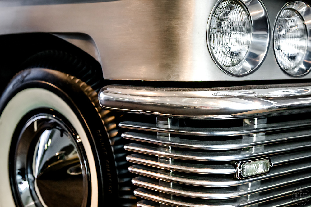 """""""Parts From The Past 32"""" - Abstract photograph of automobile parts, shot with special permission at the National Automobile Museum in Reno, Nevada. <br /> <br /> Available as prints but not as stock photography."""