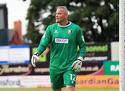 Brian Jensen of Mansfield - Mandatory by-line: Matt McNulty/JMP - 19/07/2016 - FOOTBALL - One Call Stadium - Mansfield, England - Mansfield Town v Hull City - Pre-season friendly