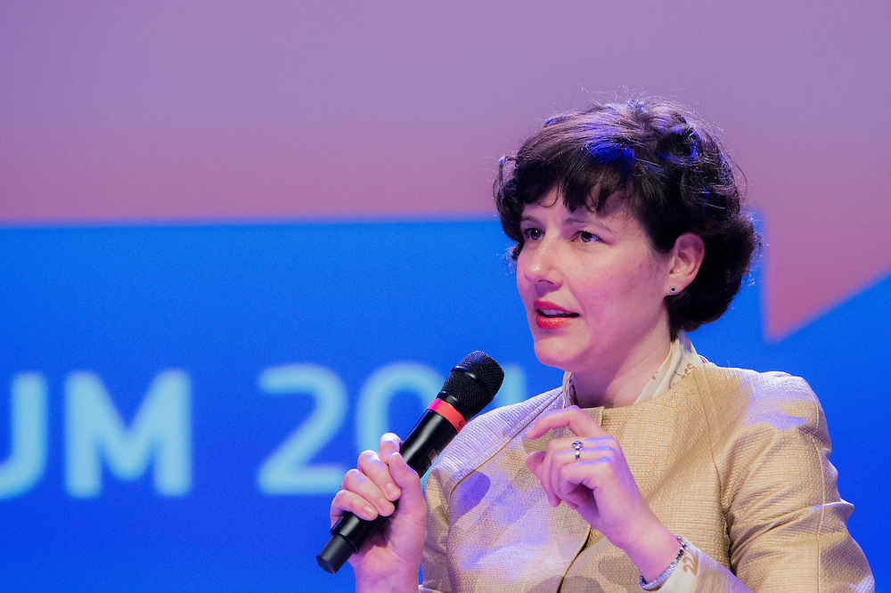Brussels, Belgium, 9 June 2016<br /> Brussels Economic Forum 2016.<br /> Dana Reizniece-Ozola, Minister of Finance, Latvia.<br /> The Brussels Economic Forum (BEF) is the flagship annual economic event of the European Commission.<br /> The BEF brings together top European and international policymakers and opinion leaders as well as civil society and business leaders. It is the place to take stock of economic developments, identify key challenges and debate policy priorities.<br /> Photo: European Commission / Ezequiel Scagnetti
