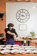Chef Emmanuel of Al Gusto, the restaurant at La Bastide Rose in France.