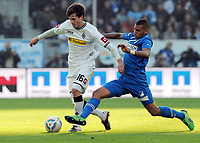 Fotball<br /> Tyskland<br /> 22.10.2011<br /> Foto: Witters/Digitalsport<br /> NORWAY ONLY<br /> <br /> v.l. Håvard Nordtveit, Ryan Babel (Hoffenheim)<br /> Bundesliga, TSG 1899 Hoffenheim - Borussia Mönchengladbach 1:0