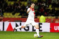 Goal Dimitar Berbatov - 02.12.2014 - Monaco / Lens - 16eme journee de Ligue 1 -<br />Photo : Jean Christophe Magnenet / Icon Sport