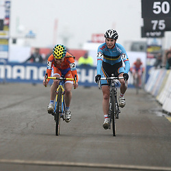 Dpahny van den Brand 2nd and Sanne Cant 3th