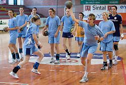 Nastja Praprotnik at practice of Slovenian Handball Women National Team, on June 3, 2009, in Arena Kodeljevo, Ljubljana, Slovenia. (Photo by Vid Ponikvar / Sportida)
