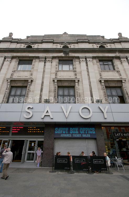 The Savoy Cinema on O'Connell Street in Dublin Ireland