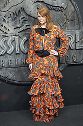 Bryce Dallas Howard attends the Jurassic World: Fallen Kingdom (Jurassic World: El Reino Caido) premiere at WiZink Center on May 21, 2018 in Madrid, Spain. Photo by Archie AndrewsABACAPRESS.COM