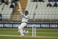 Yorkshire Jack Leaning  during the Specsavers County Champ Div 1 match between Warwickshire County Cricket Club and Yorkshire County Cricket Club at Edgbaston, Birmingham, United Kingdom on 24 April 2016. Photo by Simon Davies.
