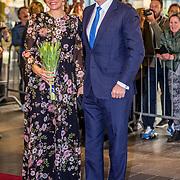 NLD/Tilburg//20170403 - Koningsdagconcert in Tilburg 2017, Koningin Maxima en Koning Willem Alexander