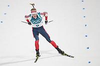 PYEONGCHANG,SOUTH KOREA,15.FEB.18 - OLYMPICS,BIATHLON - Olympic Winter Games PyeongChang 2018, 20km men. Image shows Johannes Thingnes Bø (NOR). <br /> <br /> Norway only