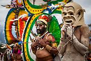 Mudman, Goroka festival, 140 ethnic tribes come together for three day Sing sing, Goroka, Eastern Highlands, Papua New Guinea