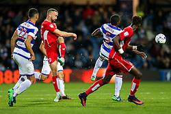 Aaron Wilbraham of Bristol City shoots - Rogan Thomson/JMP - 18/10/2016 - FOOTBALL - Loftus Road Stadium - London, England - Queens Park Rangers v Bristol City - Sky Bet EFL Championship.