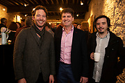 02/04/2019 Repro free:  <br /> John Mackey mByronics , Rick Office GMIT and Antonio Moreno Black Pug Studio at Harvest in the Mick Lally Theatre , an opportunity to share ideas for innovation and growth and discuss how to cultivate the city as a destination for innovation, hosted by GTC  and Sponsored by AIB and The Sunday Business Post .<br /> <br />   Photo: Andrew Downes, Xposure