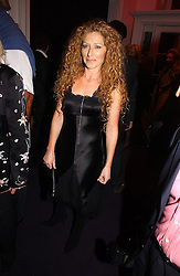 Interior designer KELLY HOPPEN at a party hosted by jeweller Theo Fennell and Dominique Heriard Dubreuil of Remy Martin fine Champagne Cognac entitles 'Hot Ice' held at 35 Belgrave Square, London, W1 on 26th October 2004.<br />
