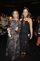 Left to right, AYESHA SHAND and LADY MARINA-CHARLOTTE WINDSOR at The Animal Ball presented by Elephant Family held at Victoria House, Bloomsbury Square, London on 22nd November 2016.