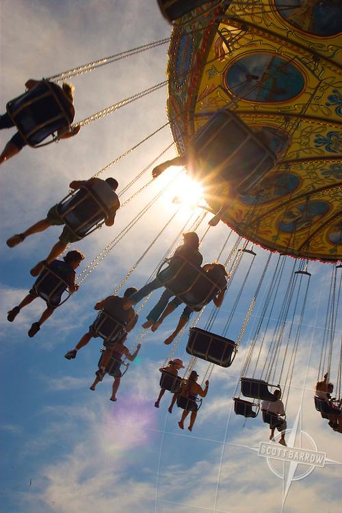 Swing Ride, Casino Pier at Seaside Heights Amusement Park, NJ