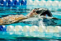 Tilen Gornik of SD Delfin competes in 4x100m Medley during Slovenian Swimming National Championship 2014, on August 3, 2014 in Ravne na Koroskem, Slovenia. Photo by Vid Ponikvar / Sportida.com