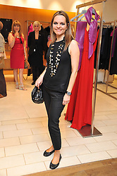 MARIA HATZISTEFANIS at a preview of the new Holmes & Yang fashion collection at Harvey Nichols, London on 6th July 2011.