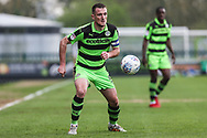 Forest Green Rovers Lee Collins(5) during the EFL Sky Bet League 2 match between Forest Green Rovers and Chesterfield at the New Lawn, Forest Green, United Kingdom on 21 April 2018. Picture by Shane Healey.