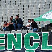Denizlispor's supporters during their Turkish superleague soccer match Trabzonspor between Denizlispor at the Avni Aker Stadium in Trabzon Turkey on Monday, 10 May 2010. Photo by TURKPIX
