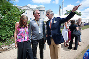 PETER FONDA;  PARKI FONDA; ARNAUD BAMBERGER, Cartier Style et Luxe at the Goodwood Festival of Speed. Goodwood House. 5 July 2009.