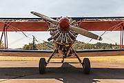 Modified N3N at Oregon Aviation Historical Society.