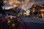 Downtown Banff, Alberta, Canada<br />