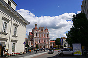 Church of St. Casimir is a Roman Catholic church in Vilnius' Old Town, close to the Vilnius Town Hall