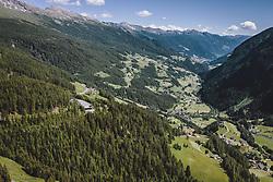 THEMENBILD - die Mautstation auf der Kärntner Seite mit dem Mölltal . Die Hochalpenstrasse verbindet die beiden Bundeslaender Salzburg und Kaernten und ist als Erlebnisstrasse vorrangig von touristischer Bedeutung, aufgenommen am 07. Juli 2020 in Heiligenblut, Österreich // the toll station on the Carinthian side with the Mölltal . The High Alpine Road connects the two provinces of Salzburg and Carinthia and is as an adventure road priority of tourist interest, Heiligenblut., Austria on 2020/07/07. EXPA Pictures © 2020, PhotoCredit: EXPA/ JFK