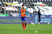 Blackburn Rovers' Joseph Rankin-Costello during the pre-match warm-up <br /> <br /> Photographer Ian Cook/CameraSport<br /> <br /> The EFL Sky Bet Championship - Swansea City v Blackburn Rovers - Saturday 31st October 2020 - Liberty Stadium - Swansea<br /> <br /> World Copyright © 2020 CameraSport. All rights reserved. 43 Linden Ave. Countesthorpe. Leicester. England. LE8 5PG - Tel: +44 (0) 116 277 4147 - admin@camerasport.com - www.camerasport.com