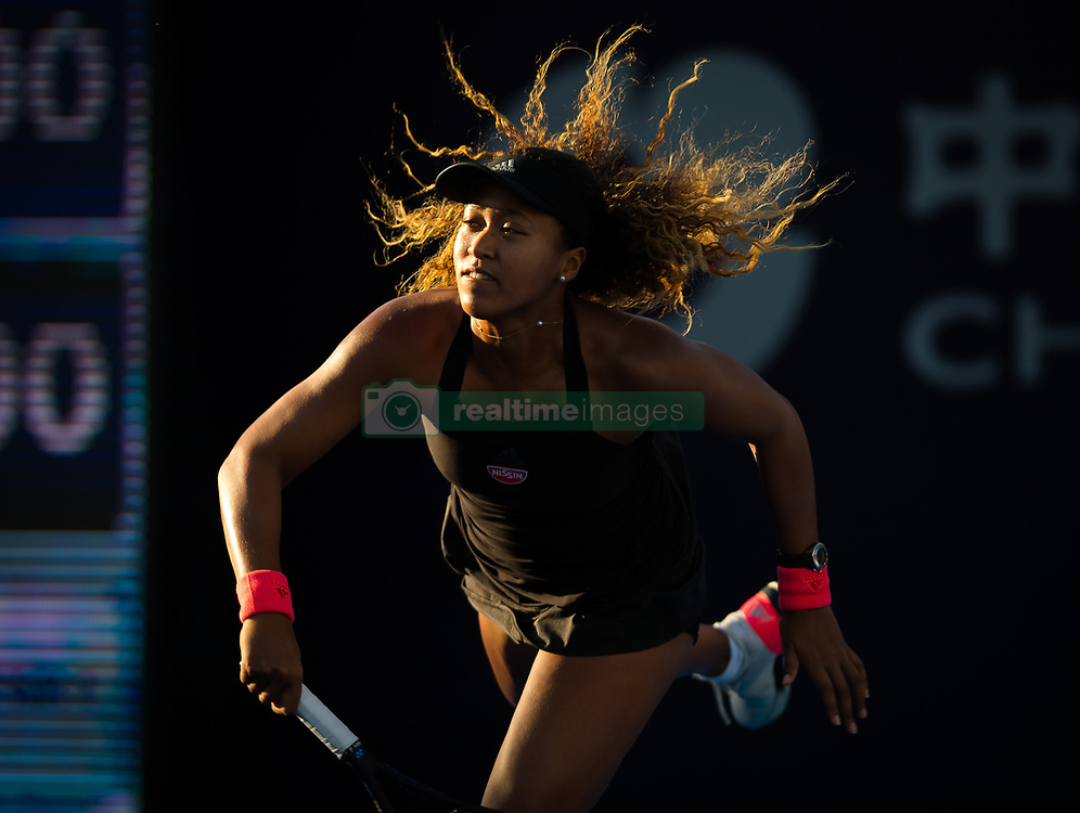 October 2, 2018 - Beijing, China - NAOMI OSAKA of Japan in action against Danielle Rose Collins of the USA during her second-round match at the 2018 China Open WTA Premier Mandatory tennis tournament. Osaka won 6:1, 6:0. (Credit Image: © AFP7 via ZUMA Wire)