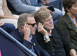 September 8, 2017 - Flushing Meadows, New York, U.S - Robert Redford attends the game between Rafael Nadal and Juan Martin del Potro in the Semifinal game on Day Twelve of the 2017 US Open at the USTA Billie Jean King National Tennis Center on Friday September 8, 2017 in the Flushing neighborhood of the Queens borough of New York City.  Nadal defeats del Potro. Nadal defeats del Potro, 4-6, 6-0, 6-3, 6-2. (Credit Image: © Prensa Internacional via ZUMA Wire)