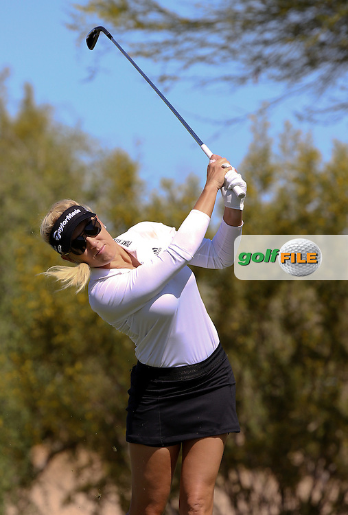 22 MAR15 Fan favorite Natalie Gulbis at Sunday's Final Round of the JTBC Founder's Cup at The Wildfire Golf Club in Scottsdale, Arizona. (photo credit : kenneth e. dennis/kendennisphoto.com)