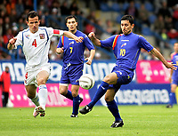 ◊Copyright:<br />GEPA pictures<br />◊Photographer:<br />Thomas Karner<br />◊Name:<br />Jimenez<br />◊Rubric:<br />Sport<br />◊Type:<br />Fussball<br />◊Event:<br />FIFA WM 2006, Qualifikation, Tschechien vs Andorra, CZE vs AND<br />◊Site:<br />Liberec, Tschechien<br />◊Date:<br />04/06/05<br />◊Description:<br />Tomas Galasek (CZE), Antoni Sivera, Manolo Jimenez (AND)<br />◊Archive:<br />DCSTK-0406054003<br />◊RegDate:<br />05.06.2005<br />◊Note:<br />OK/JM - Nutzungshinweis: Es gelten unsere Allgemeinen Geschaeftsbedingungen (AGB) bzw. Sondervereinbarungen in schriftlicher Form. Die AGB finden Sie auf www.GEPA-pictures.com.<br />Use of picture only according to written agreements or to our business terms as shown on our website www.GEPA-pictures.com