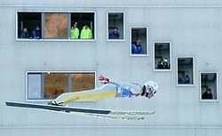 31.12.2016, Olympiaschanze, Garmisch Partenkirchen, GER, FIS Weltcup Ski Sprung, Vierschanzentournee, Garmisch Partenkirchen, Qualifikation, im Bild Daniel Andre Tande (NOR) // Daniel Andre Tande of Norway during his Qualification Jump for the Four Hills Tournament of FIS Ski Jumping World Cup at the Olympiaschanze in Garmisch Partenkirchen, Germany on 2016/12/31. EXPA Pictures © 2016, PhotoCredit: EXPA/ Jakob Gruber