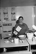 Scolarship Girls at the Irish Countrywomen's Association College, Termonfeckin, County Louth..02.03.1967 Ranks, Wholemeal, Four, Bread, Baking,
