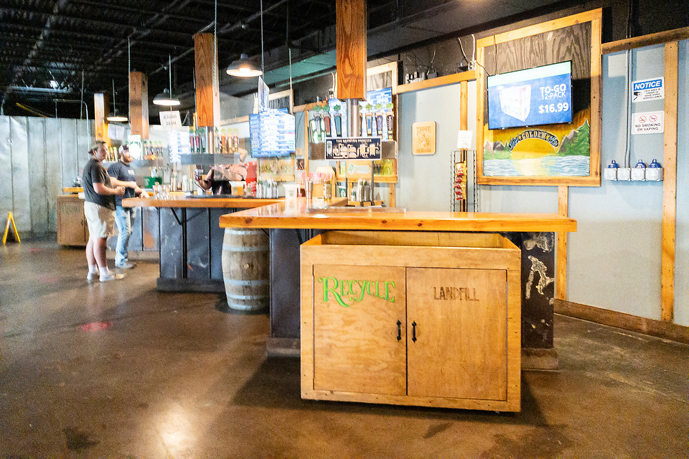 The taste room at Terrapin Beer Co. in Athens, Georgia on Tuesday, July 13, 2021. Copyright 2021 Jason Barnette