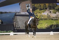 Van Silfhout Diederick, (NED), Arlando<br /> Jumping Indoor Maastricht 2016<br /> © Hippo Foto - Dirk Caremans<br /> 12/11/2016
