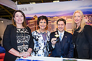 27/1/16 US Chargé d'affaires Reece Smyth at the Las Vegas stand at the Holiday World Show 2017 at the RDS Simmonscourt in Dublin. Picture: Arthur Carron