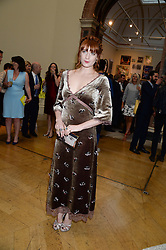FLORENCE WELCH at the preview party for The Royal Academy Of Arts Summer Exhibition 2013 at Royal Academy of Arts, London on 5th June 2013.