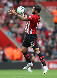Southampton's Charlie Austin during the game