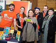 Norah Casey and the Nua Naturals Winners at the annual SCCUL Enterprise Awards prize giving ceremony and business expo which was hosted by NUI Galway in the Bailey Allen Hall, NUIG. Photo:Andrew Downes