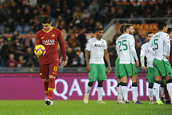 December 26, 2018 - Rome, Italy - Diego Perotti during the Italian Serie A football match between A.S. Roma and Sassuolo at the Olympic Stadium in Rome, on december 26, 2018. (Credit Image: © Federica Roselli/NurPhoto via ZUMA Press)