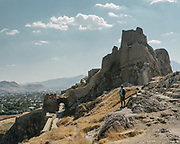 The Fortress of Van also known as Van Citadel  is a massive stone fortification built by the ancient kingdom of Urartu during the 9th to 7th centuries BC, and is the largest example of its kind.