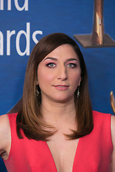 February 17, 2019 - Beverly Hills, California, U.S - Chelsea Peretti on the red carpet of the 2019 Writers Guild Awards at the Beverly Hilton Hotel on Sunday February 17, 2019 in Beverly Hills, California. ARIANA RUIZ/PI (Credit Image: © Prensa Internacional via ZUMA Wire)