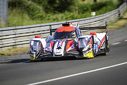 June 4, 2017 - Le Mans, France - 28 TDS RACING (FRA) ORECA 07 GIBSON LMP2 FRANÇOIS PERRODO (FRA) MATHIEUX VAXIVIERE (FRA) EMMANUEL COLLARD (FRA) NICKY CATSBURG  (Credit Image: © Panoramic via ZUMA Press)