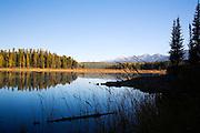 Rainy Lake near Seeley Lake, Montana.
